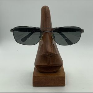 Bolle Harmium Gunmetal Aviator Sunglasses Frames